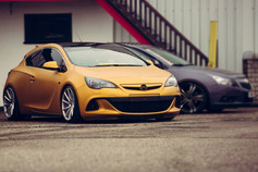 Vauxhall Astra GTC Fitted With BOLA ZZR