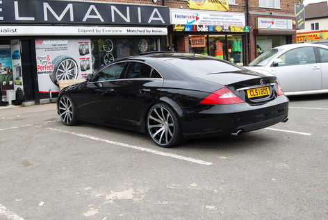"""MERC CLS Fitted With 20"""" MGM"""