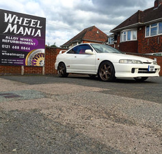 "Honda Integra Type R Fitted With 18"" Bronze Calibre GTR"