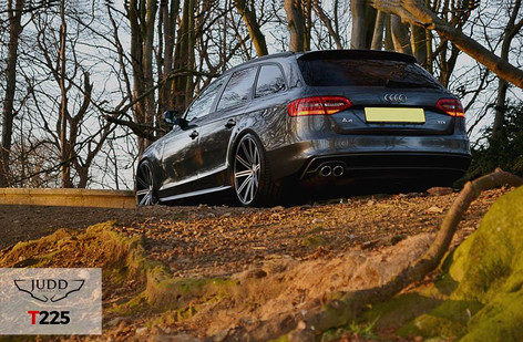 """Audi A4 Fitted With 20"""" Judd T225"""