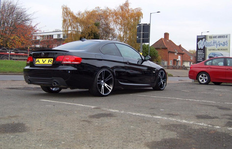 Bmw E90 Fitted With AVR