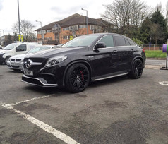 """Mercedes GLE AMG Fitted with 22"""" JUDD T229"""