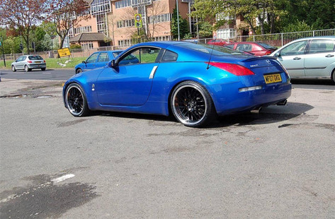 "NISSAN 350Z Fitted With 20"" RADISSON"