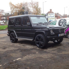 Mercedes G-Wagon Fitted With XTREME X90 Alloy