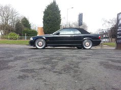 Bmw E46 Fitted With Calibre Vintage
