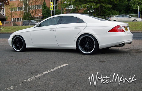 "MERC CLS Fitted With 20"" RADISSON"
