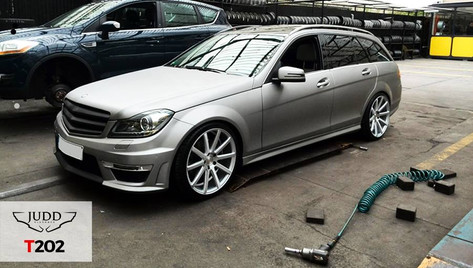 Mercedes W204 Fitted With Judd T202
