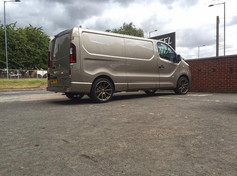"""Vauxhall Vivaro fitted with 19"""" BOLA CSR"""