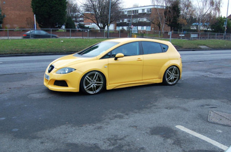 Seat Leon Fitted With Aez Genua