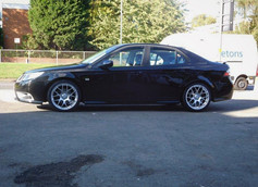 """Saab 9-3 Fitted with 18"""" MS007"""