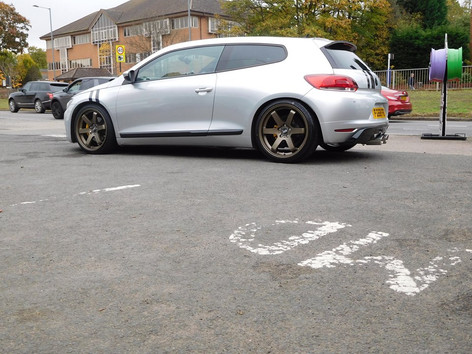 """VW Scirocco Fitted With 19"""" Bola B1"""