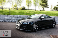 """Audi TT Fitted With 20"""" Judd T202"""