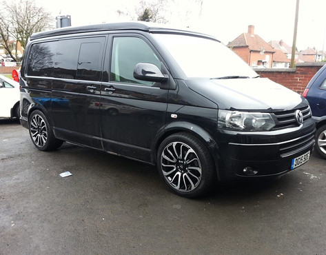 """VW T5  Fitted With 20"""" Turbines"""