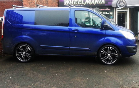 FORD TRANSIT Fitted WithCALIBRE ODDYSSEY