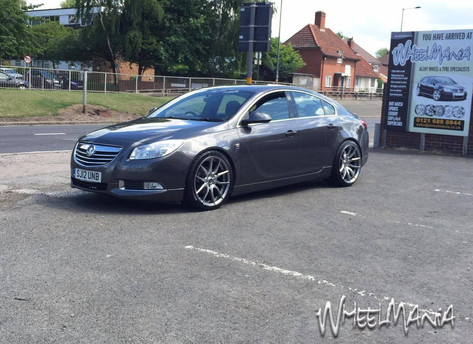 "Vauxhall Insgina Fitted With 20"" MAYFAIR"
