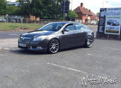 """Vauxhall Insgina Fitted With 20"""" MAYFAIR"""