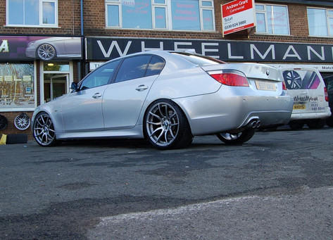 "Bmw E60 Fitted With 20"" Mayfair"