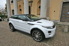 Range Rover Evoque Fitted With Wolfrace Vermont