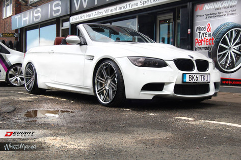BMW M3 Fitted With 20 DEVIANT 8.2