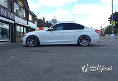 """Bmw Fitted With 20""""Mania Mayfair"""