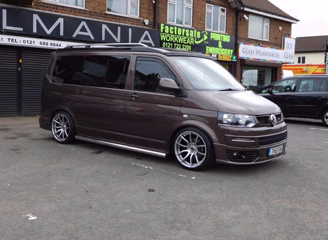 """VW T5 Fitted With 20"""" Mania Mayfair"""