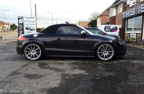 """Audi TT Fitted With 20"""" Mayfair"""