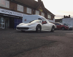 """Ferrari 458 Fitted With 20"""" Mania Mayfair"""