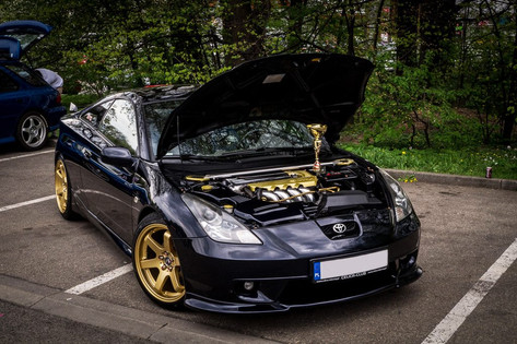 Toyota Celica Fitted With BOLA B1