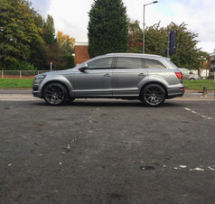 """Audi Q7 fitted with 22"""" JUDD T311"""