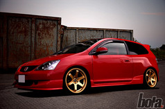 HONDA CIVIC Fitted With BOLA B1