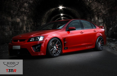 "Vauxhall VXR8 Fitted With 20"" Judd T311"