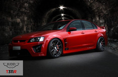 """Vauxhall VXR8 Fitted With 20"""" Judd T311"""