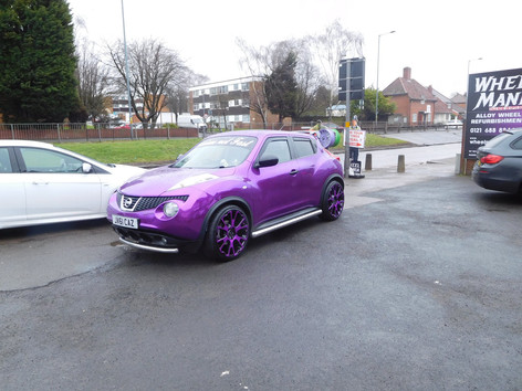 "Nissan juke Fitted With 20"" Balmoral"