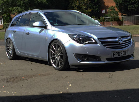 "Vauxhall Insignia Fitted With 20"" MAYFAIR"