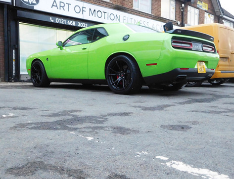 Dodge Fitted with 2 Forged ZF2