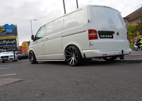"""VW T5 Fitted With 20"""" MGM"""