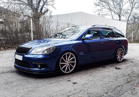 Skoda Octavia Estate Fitted With BOLA ZZR