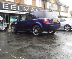 """FREELANDER 2 Fitted With 20"""" MANIA MAYFAIR"""