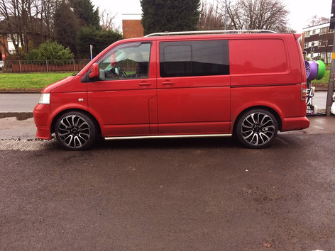"""VW T5 Fitted With 20"""" Turbine"""