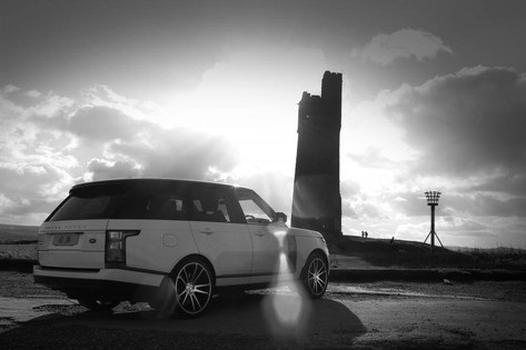 "RANGE ROVER Fitted With 22"" RV116"