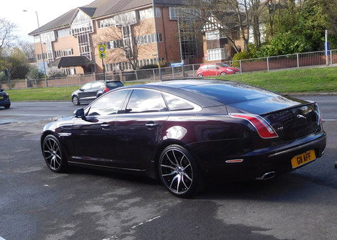 """JAG XJ Fitted With 20"""" MAYFAIR"""