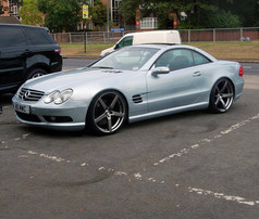 """MERC SL Fitted With 20"""" SILVERSTONE"""