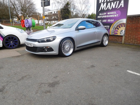 VW Scirocco fitted with Calibre Vintage