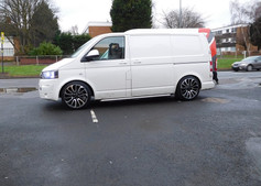 "VW T5 Fitted With 20"" Turbine"