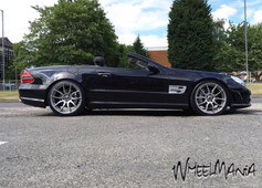 """MERC SL Fitted With  20"""" MAYFAIR"""