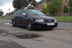 """Audi RS4 Fitted With 20"""" MGM"""
