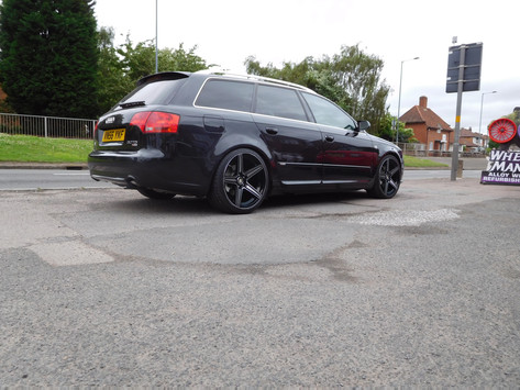 """Audi A4 Fitted With 19"""" Drc Dma"""