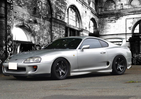 Toyota Supra fitted with Bola B1