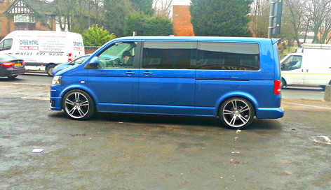 "VW Transporter Fitted With 20"" Avr"