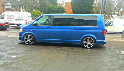 """VW Transporter Fitted With 20"""" Avr"""
